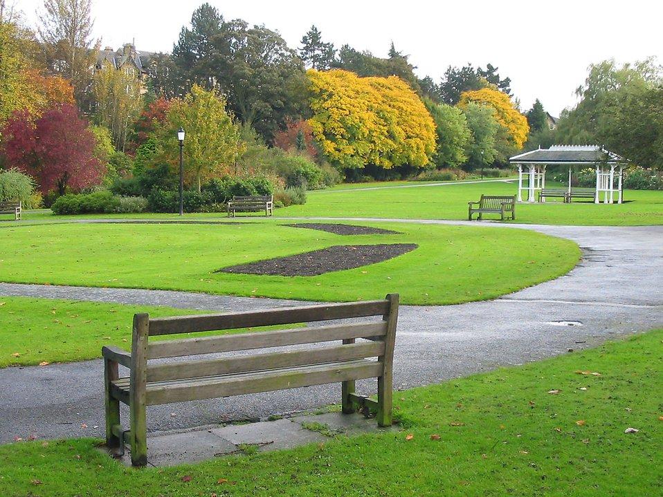 ławki parkowe