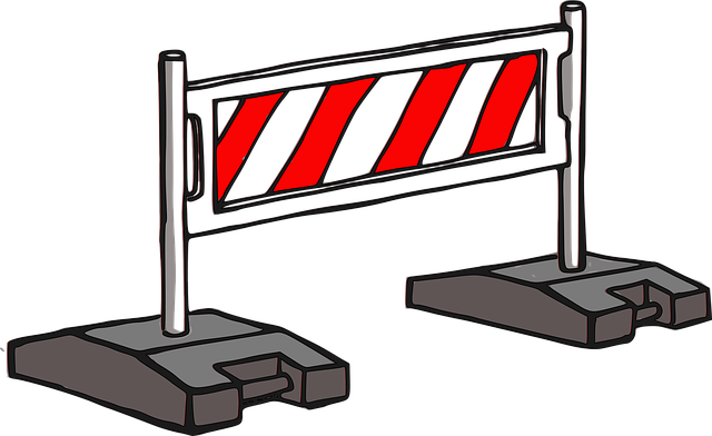 barierki ostrzegawcze