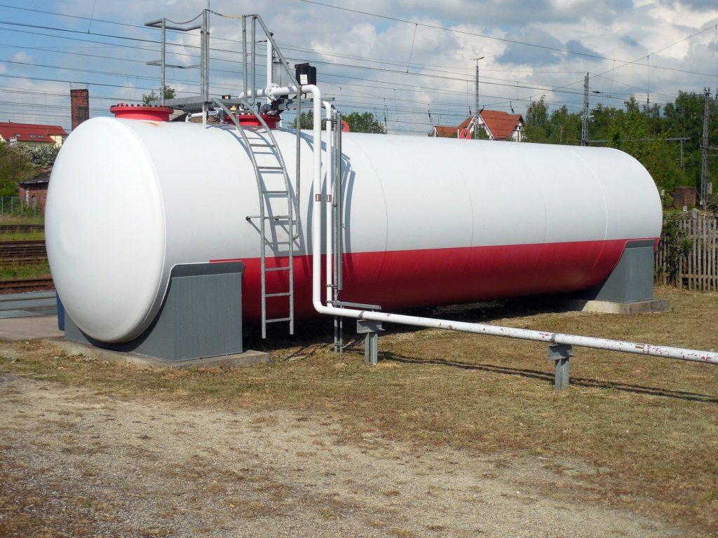 zbiornik gazowy
